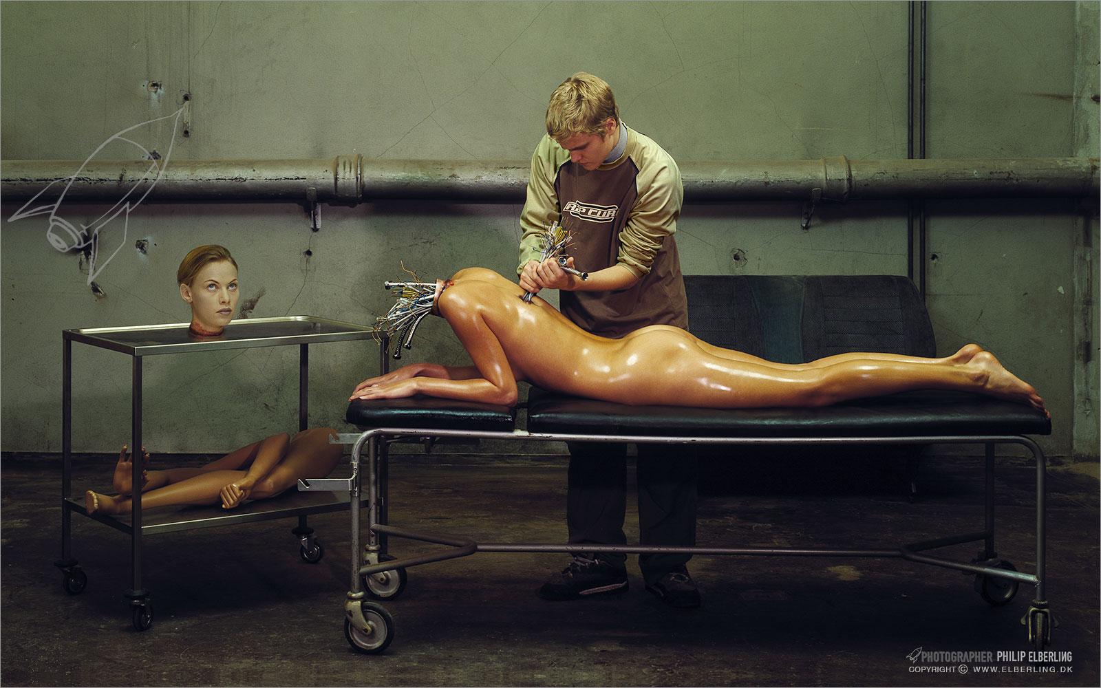 Frankenstein-creates-female-robot