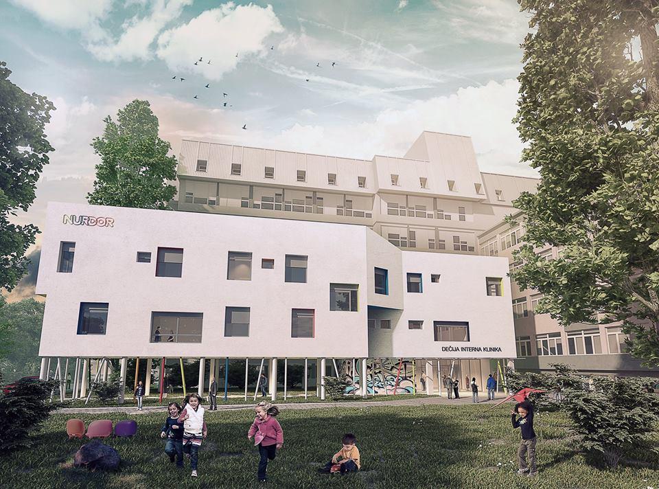 Projekat Hematoonkološkog odeljenja za decu u Nišu; Izvor: nurdor.org